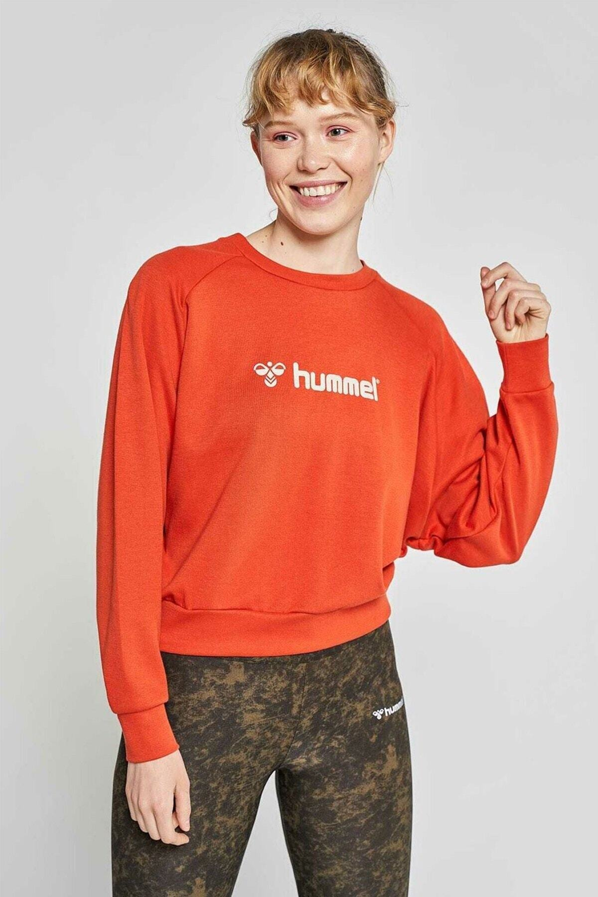 HUMMEL Kadın Stella Kırmızı Sweatshirt 921057-3840 2