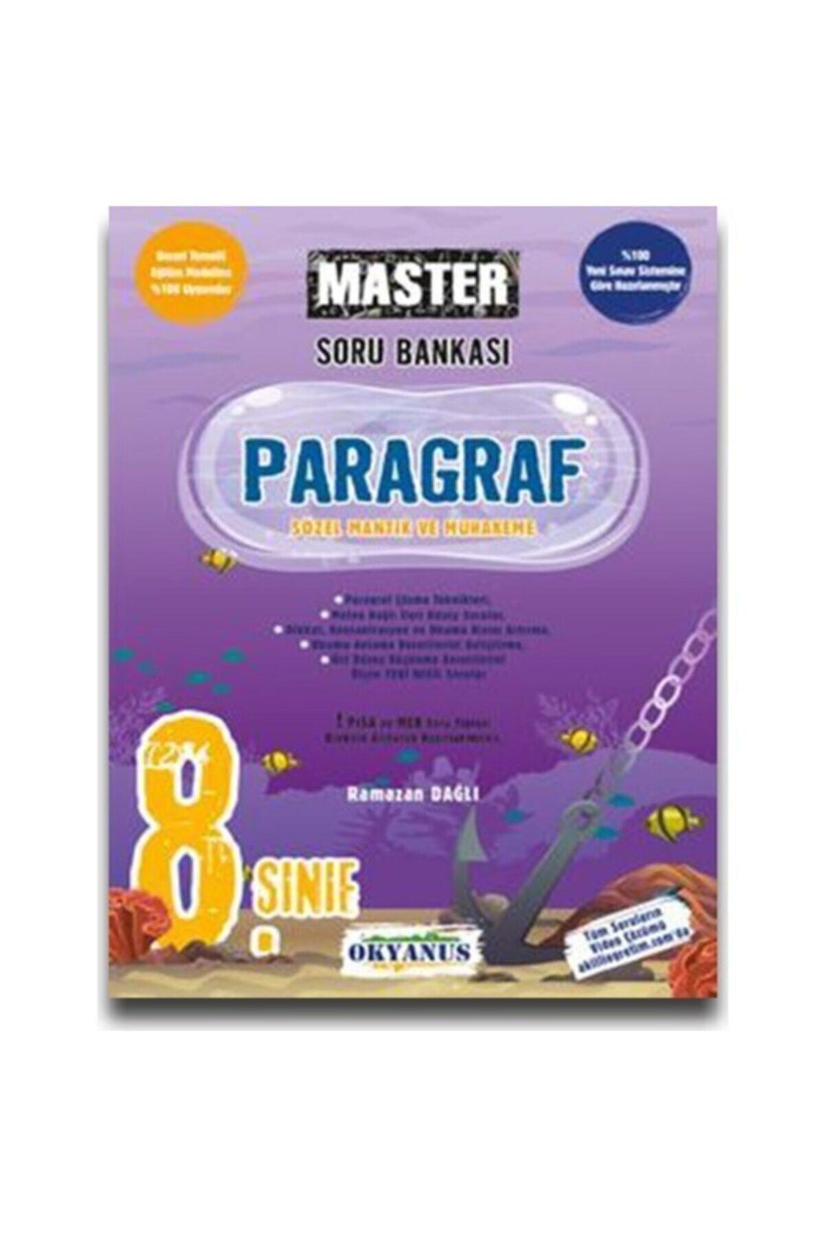 Okyanus Yayınları Okyanus 8. Sınıf Master Paragraf Soru Bankası 1