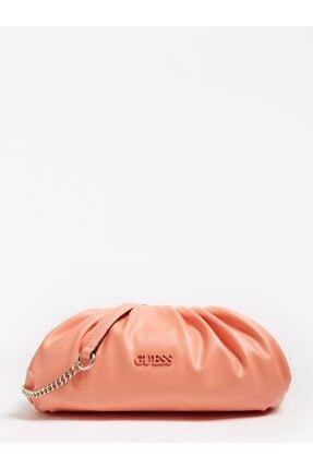 Guess Central Cıty Mercan Rengi Kadın Çanta