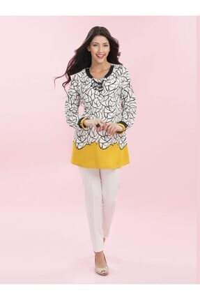 Even Fashion Hamile Giyim Kolye Detaylı Hamile Bluz