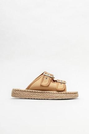 Elle Shoes Kadın Naturel Düz Espadril