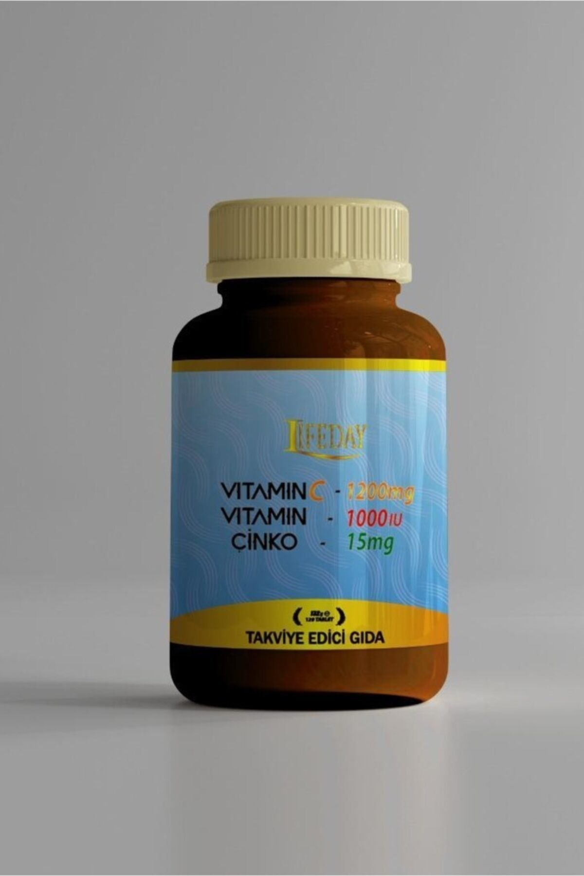 Lifeday Vitamin C Vitamin D Çinko 120 Tablet 1