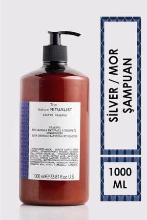 The Natural Ritualist Turunculaşma Karşıtı Sarı Saçlar Için Mor Şampuan 1000 ml