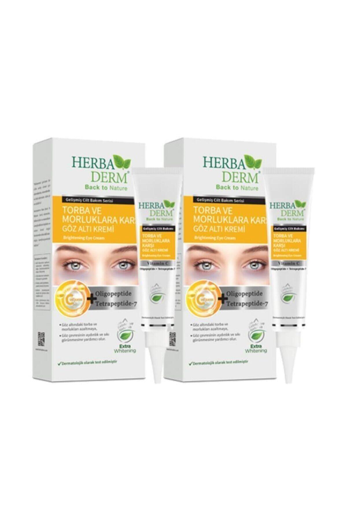 Herbaderm Göz Altı Torba Ve Morluk Karşıtı Krem 15 Ml 2'avantajlı Paket 1