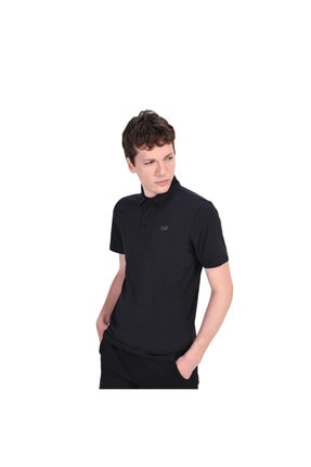SKECHERS Polo's M Stretch Polo Erkek Siyah Polo Yaka Tshirt