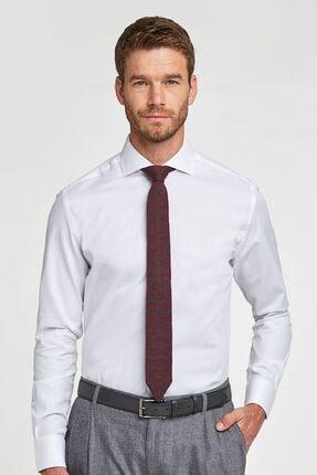 Hemington Erkek Beyaz İtalyan Yaka Business Gömlek
