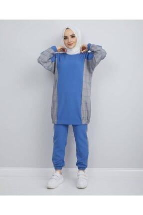 Afra Lıne Kadın Mavi İkili Takım