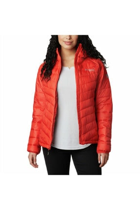 Columbia Kadın  Turuncu Snow Country Hooded Jacket Mont