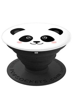 PixyTech Panda Desenli Pop Soket Telefon Parmak Tutucu Popsocket