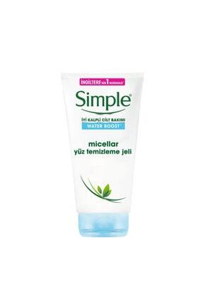 Simple Micellar Facial Gel Wash Yüz Temizlem Jeli 150ml
