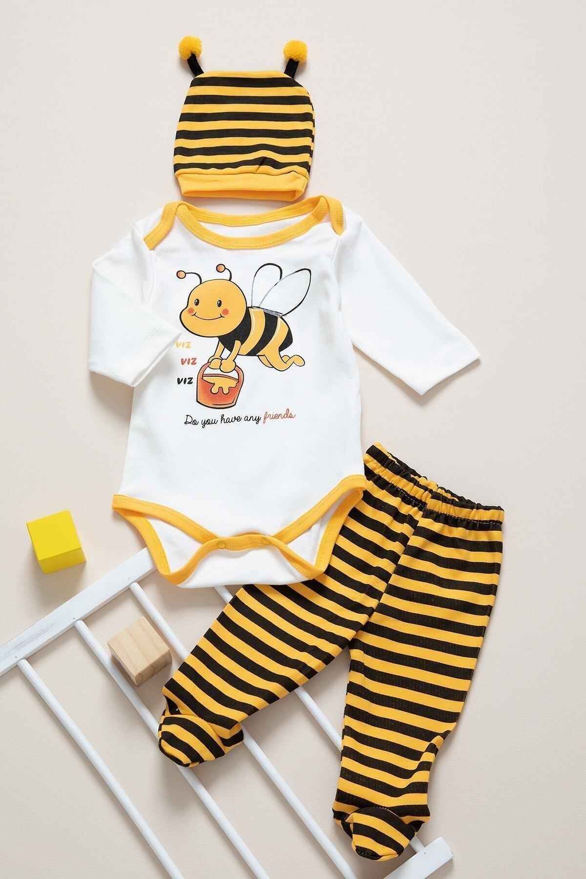 BabyLife Kız Bebek Takım 0365 1