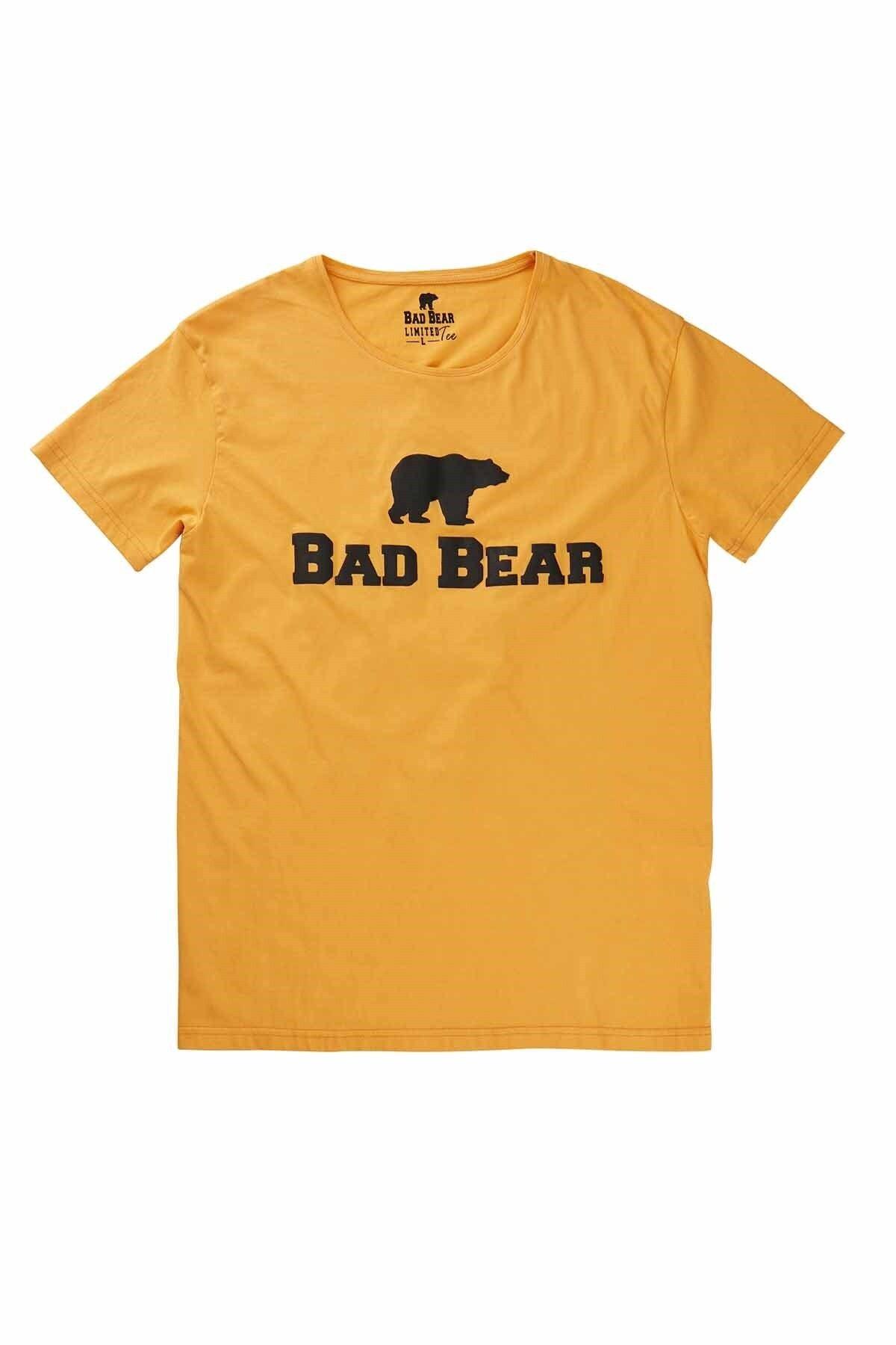 Bad Bear Tee Erkek Tişört 19.01.07.002mustard 1