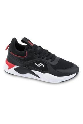 Jump 24770 Siyah - Kırmızı Erkek Spor Ayakkabı