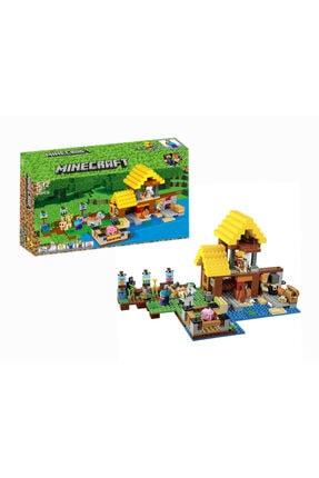 e-life Es1007 Lego Yapı Oyuncak Seti Minecraft My World Serisi 432 Parça
