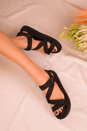 SOHO Siyah Kadın Sandalet 16298