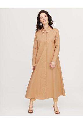Kayra Kadın Uzun Giy-çık Camel B21 25003