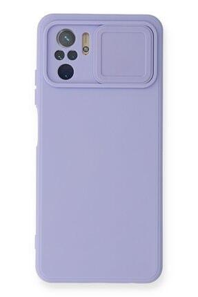 NewFace Xiaomi Redmi Note 10 Uyumlu Color Lens Soft Yüzeyli Silikon Kılıf
