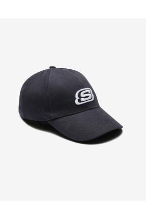 SKECHERS Unisex Gri Şapka