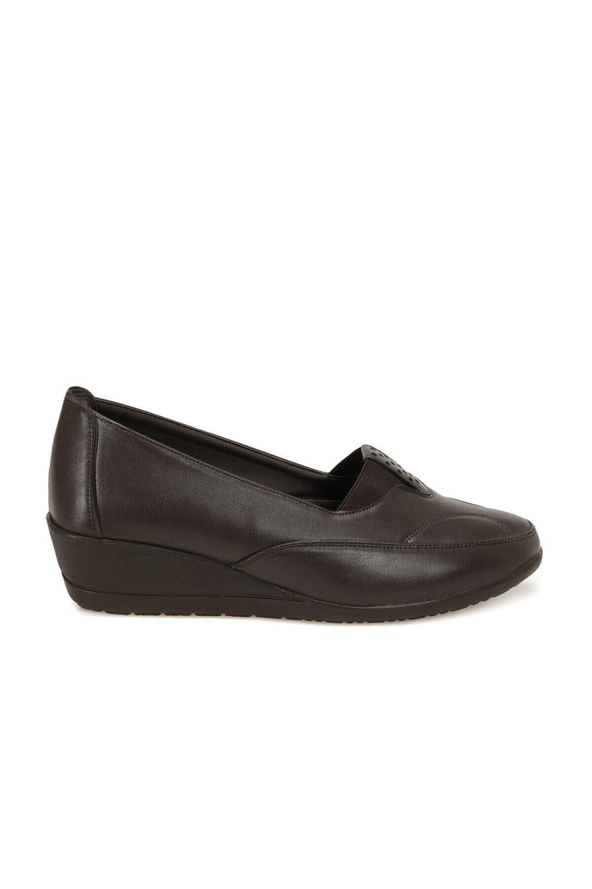 Polaris 161347.Z Kahverengi Kadın Comfort Ayakkabı 100548368 2