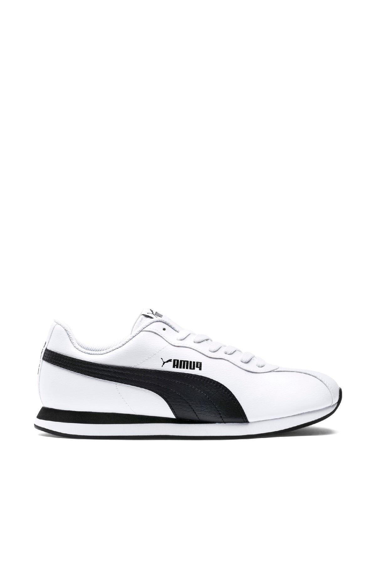 Puma Turin Ii Beyaz Siyah Erkek Sneaker Ayakkabı 100352194 1