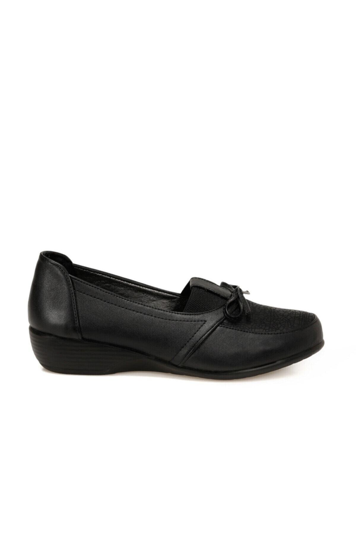 Polaris 161495.Z Siyah Kadın Comfort Ayakkabı 100548355 2