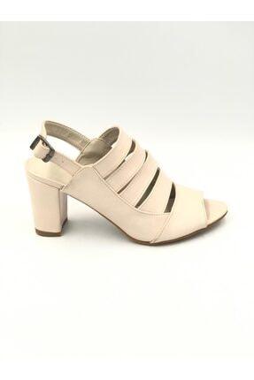 PUNTO Kadın Pembe Dolgu Topuk Ayakkabı