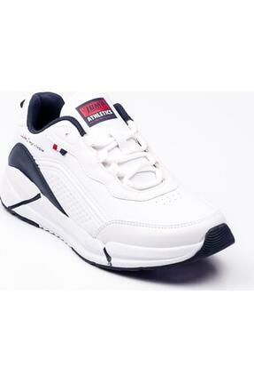 Jump Erkek Beyaz Lacivert Büyük Beden Spor Ayakkabı 25662 10w04025662b