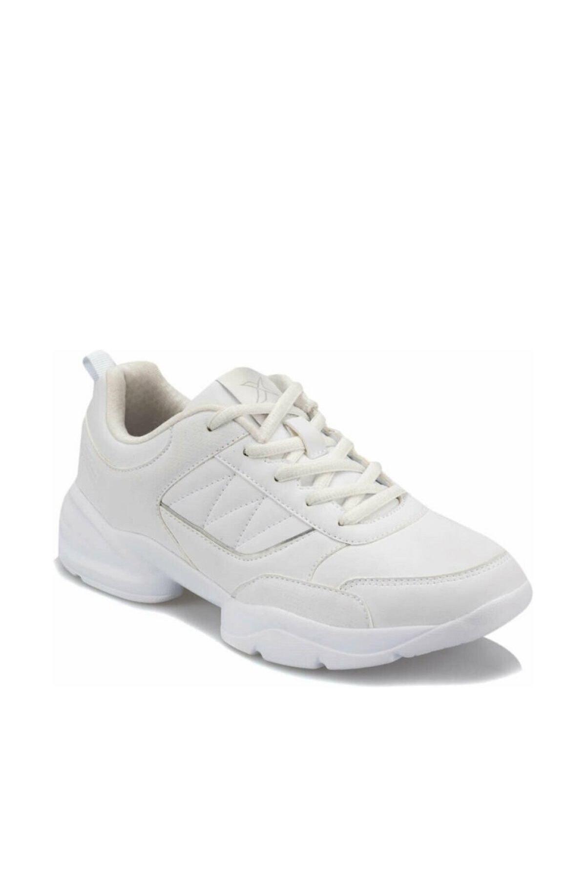 Kinetix PERLA W 9PR Beyaz Kadın Kalın Taban Sneaker Spor Ayakkabı 100426870 1