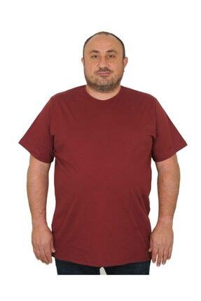 MocGrande Büyük Beden Erkek T-shirt Classic Basic %100 Pamuklu