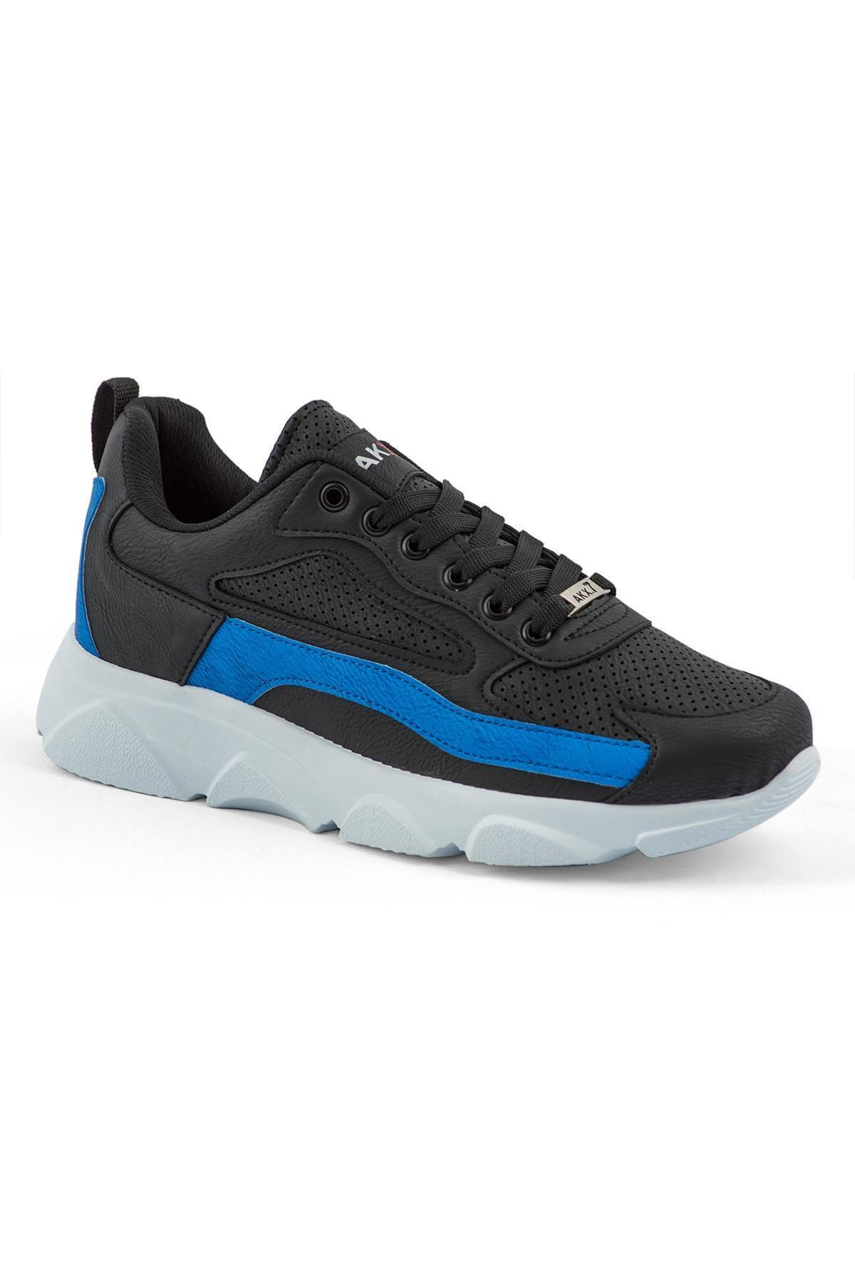 AKX 7 029 Siyah Sax Beyaz Erkek Spor Ayakkabı 2