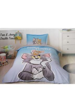 Özdilek Tk Nevresim Takımı Tom & Jerry Double Trou Gri