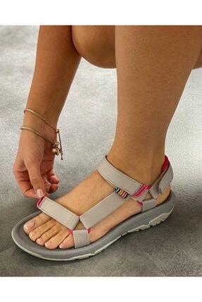 Wenti Shoes Kadın Gri Outdoor Sandalet Ws 100
