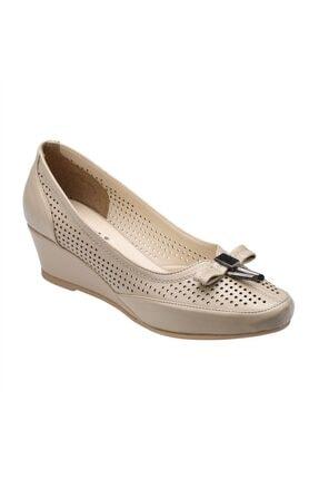 Polaris 61.156550 Comfort Bej Kadın Ayakkabı