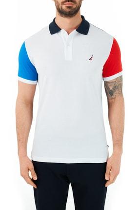 Nautica Erkek % 100 Pamuklu Polo T Shirt Kc0102t 1bw