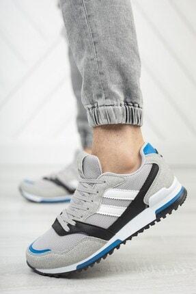 Riccon Unisex Gri Saks Sneaker 0012863