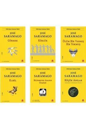Kırmızı Kedi Yayınevi Jose Saramago 6 Kitap Set - Körlük - Görmek - Kabil - Ölüm Bir Varmış Bir Yokmuş