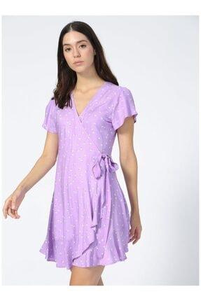 AEROPOSTALE Kadın Mor Elbise