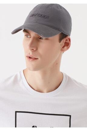 Mavi Stay Cool Baskılı Şapka