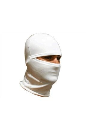 BSF Group Unisex Beyaz Polar Kar Maskesi