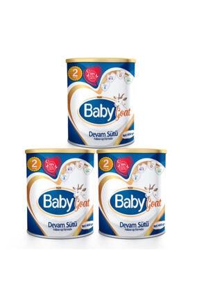 Baby Goat 2 Keçi Sütü Bazlı Devam Sütü 400 gr X 3 Adet