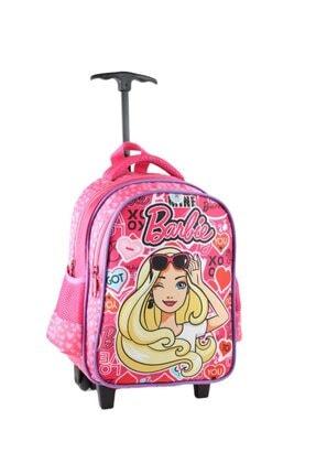 Hakan Çanta Barbie Anasınıfı Anaokulu Çek Çekli Kız Çocuk Çantası