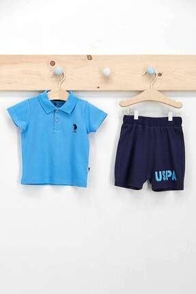 U.S. Polo Assn. Erkek Bebek Dik Yaka T-shirt Takım