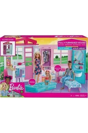 Barbie 'nin Taşınabilir Portatif Evi Fxg54