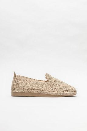 Elle Shoes Kadın Bej Naturel Espadril