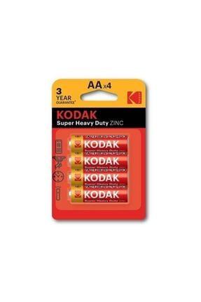 Kodak Çinko Karbon 4'lü Kalem Pil