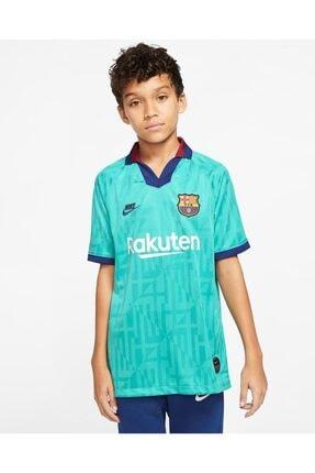 Nike Erkek Çocuk Turkuaz Fc Barcelona Stadium Football Üçüncü Takım T-Shirt At2632-310
