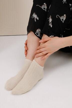 Gusto Fitilli Soket Çorap - Bej