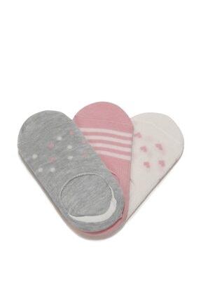 I COOL HEART 3 LU SUBA-G 1FX Pembe Kız Çocuk Çorap 100691868