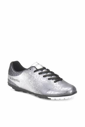 Kinetix MENEZ TURF Gümüş Gri Beyaz Erkek Halı Saha Ayakkabısı 100313492
