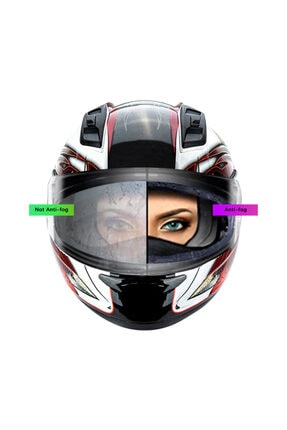 Müstesna Antifog Buhu Buhar Nasıl Kask Motosiklet Filmi Motor Kask Filmi Kask Camı Pınlock Universal Antifog